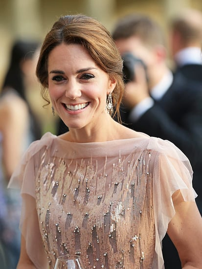 Princess Kate Wears a 5-Year-Old Dress and the Queen's Earrings - Again!