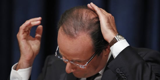Francois Hollande's Hairdresser Earns A 6-Figure Salary. France Is Not Happy.