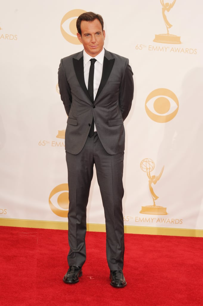 Will Arnett looked handsome at the 2013 Emmys.
