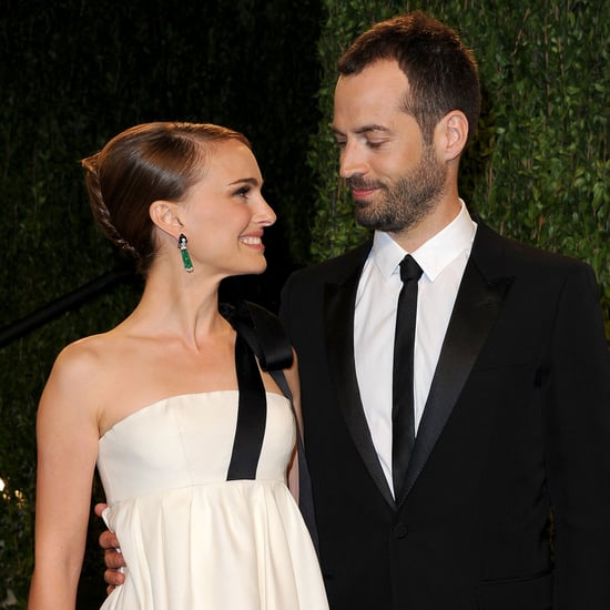 Natalie Portman at the Vanity Fair Oscars Party 2013