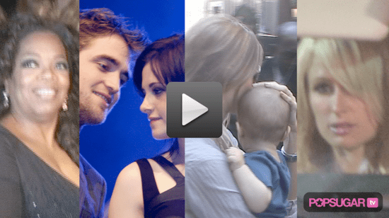 Robert and Kristen Relationship News, Video of Gisele and Tom Brady With Their Baby and Paris Hilton Partying