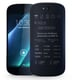 The backside isn't smooth like a normal smartphone screen. YotaPhone has a 3D curved matte Gorilla Glass display on the back, giving the eink screen a bit of texture.