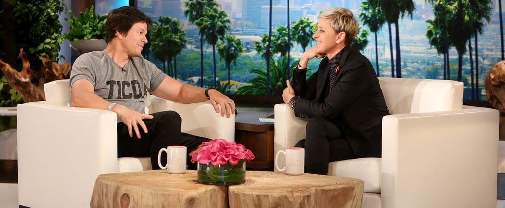 "Yep, Mark Wahlberg Talks About His ""Hairy Ass"" on Ellen"