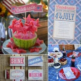 A Vintage, All-American Fourth of July Party