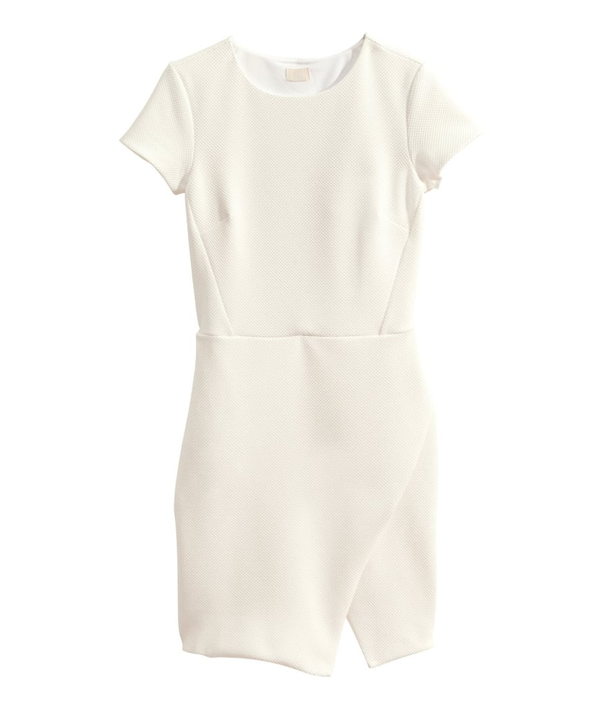 H&M Asymmetric Knit Dress
