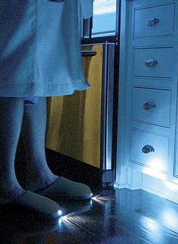 See In The Dark With Brightfeet Lighted Slippers