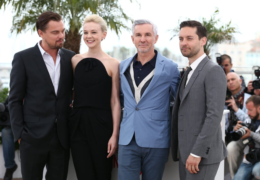 Leonardo DiCaprio, Carey Mulligan, Baz Luhrmann, and Tobey Maguire linked up in Cannes.