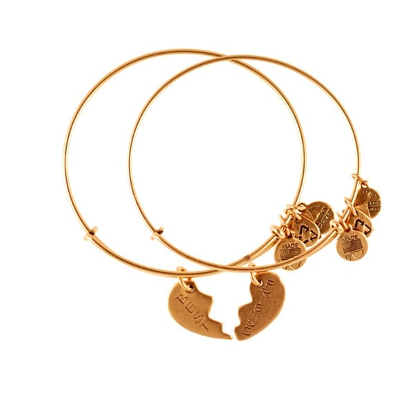 Think of these Alex and Ani Best Friends Forever bracelets ($48) as your luxe and cool version of the classic charm bracelet.