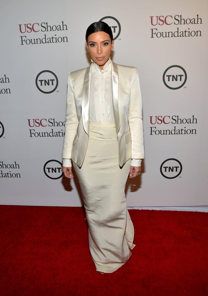 Kim Kardashian at the USC Shoah Foundation Gala