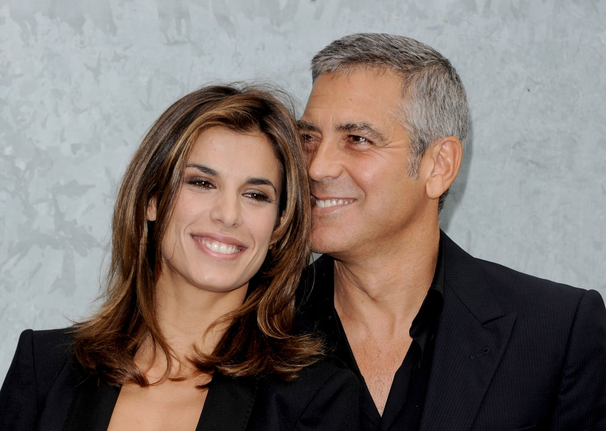 Here's Proof That Clooney Only Gets Better With Age George-Clooney-met-Italian-beauty-TV-personality-Elisabetta