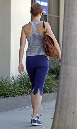 Guess Which Celeb Is Going to the Gym?
