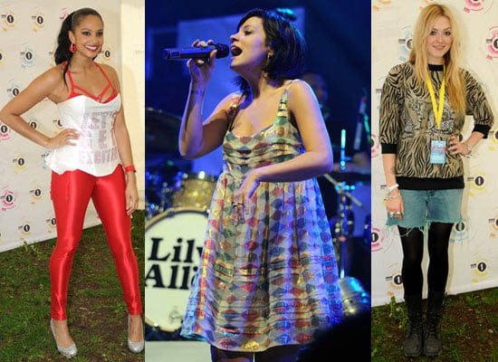 Photos of Lily Allen, Fearne Cotton, Alesha Dixon and More at Radio 1 Big Weekend 2009