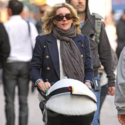 First Photos of Jane Krakowski With Son Bennett Robert Godley