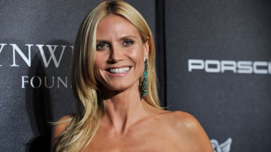 Heidi Klum Goes Swimming Topless, Posts Pics to Instagram