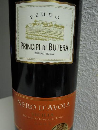 Review of Feudo Principi Di Butera Nero d'Avola