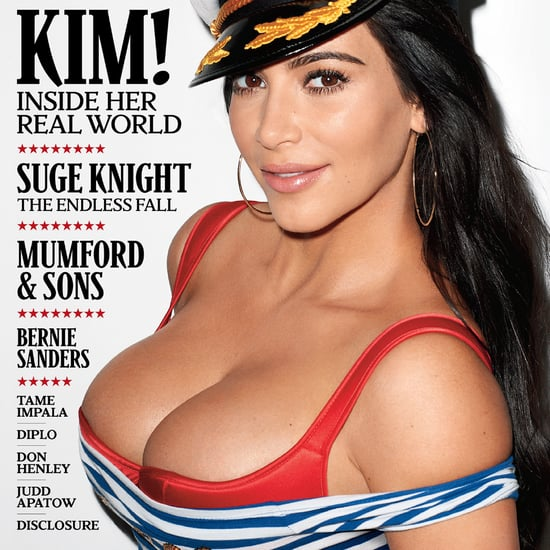 Kim Kardashian Cover and Interview Rolling Stone July 2015