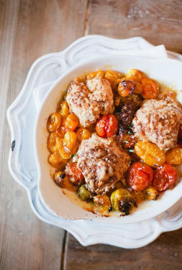 Tomato Cobblers