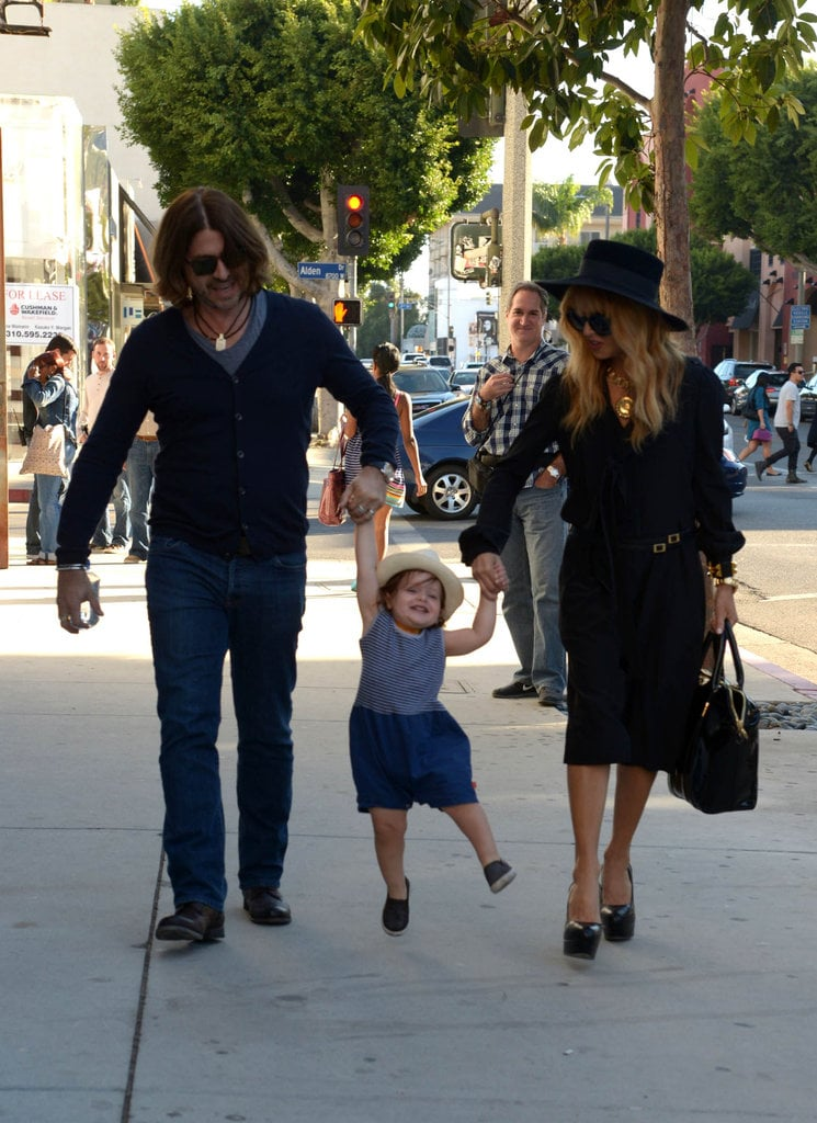 As if Skyler Berman didn't already have an upper hand on the celebrity tots with his unbeatable wardrobe, he also scored an adorable smile. We've seen plenty of his baby grin this year, but this picture of his mom, Rachel Zoe, and dad, Roger Berman, swinging him on a walk in Hollywood in October is too cute for words. — Michelle Manning, editorial assistant