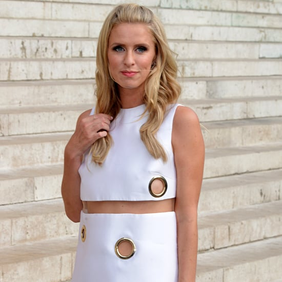 Nicky Hilton Wardrobe Malfunction at Paris Fashion Show
