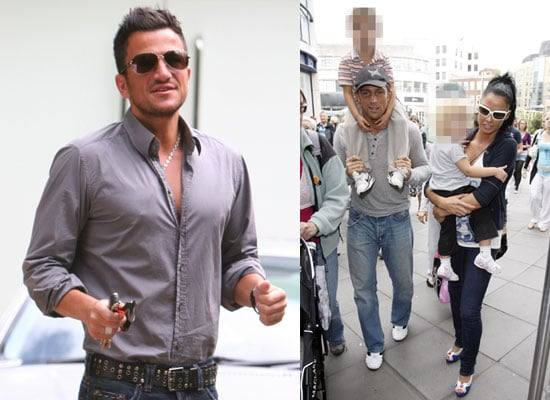 Photos of Jordan aka Katie Price and Alex Reid and Childen Plus Peter Andre as This Morning Showbiz Reporter at MOBO Nominations