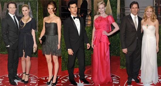 Photos of Stars Arriving at Vanity Fair Oscar Party Including Jessica Simpson, Diane Kruger, Natalie Portman, John Hamm
