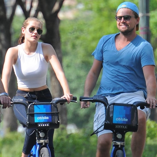 Leonardo DiCaprio Riding a Bike in NYC May 2016 | Pictures