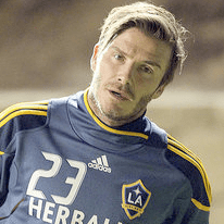 Pictures of David Beckham Playing For LA Galaxy in San Diego, v Club Tijuana