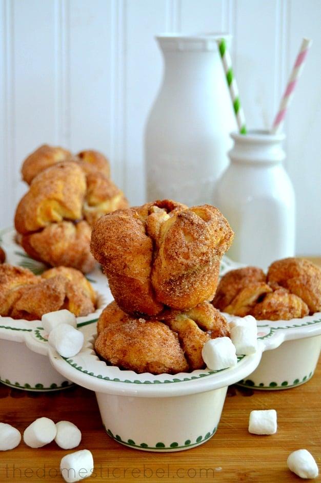 Magic Marshmallow Monkey Bread Muffins