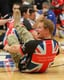 Prince Harry played with the British Warrior Games team.