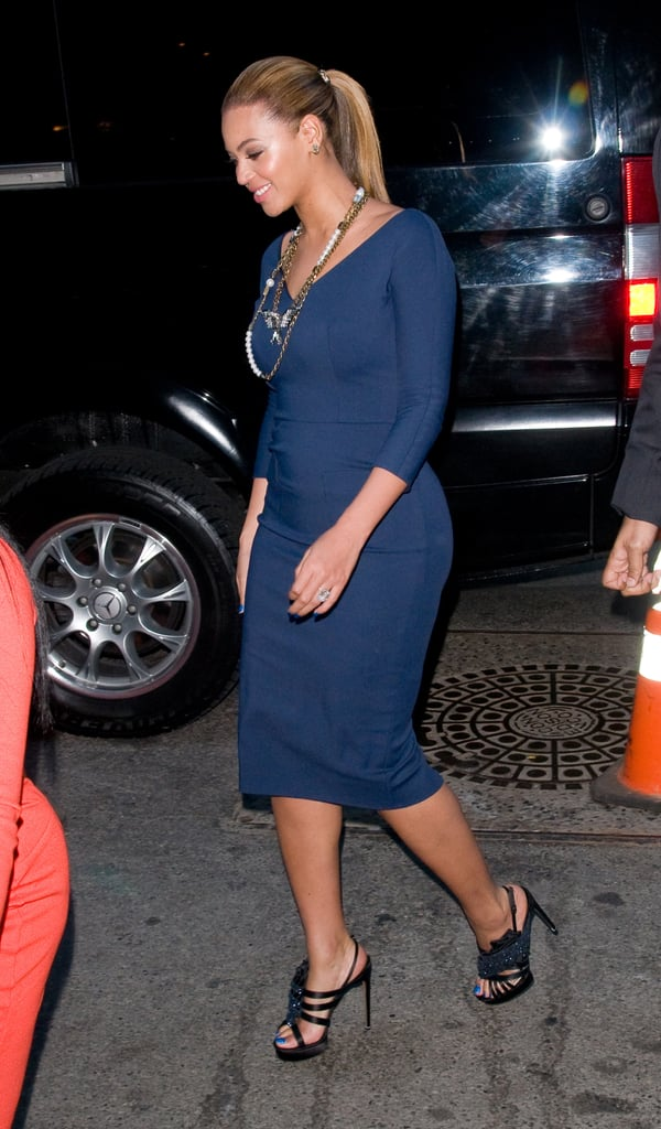 Beyoncé Knowles Shows Her Political Support at a Cocktail Party With the First Lady