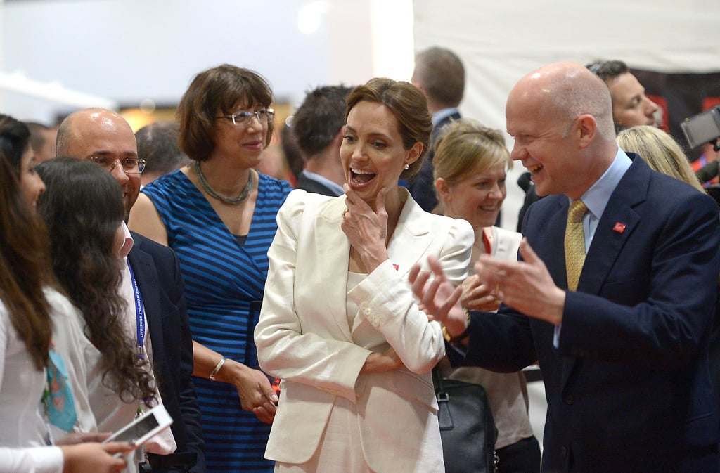 Angie Gets Support From Brad and George's New Fiancée at Her Special Summit