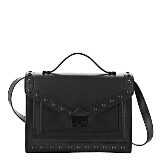 """""""Part of what makes Loeffler Randall's new handbags so cool is how they got their name — 'The Rider,' because they have straps you can buckle right to your bike. OK, I'm not exactly biking around the city, but I fell completely for its functionality and charm."""" — Hannah Weil, associate editor Loeffler Randall Rider Bag ($595)"""