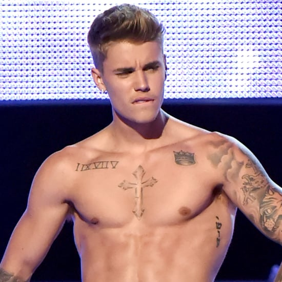 Justin Bieber Shirtless Pictures