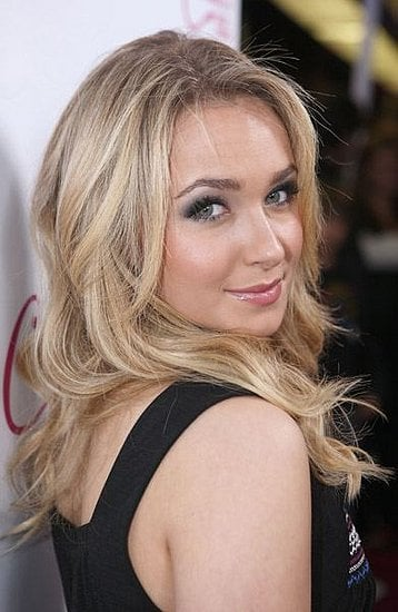 Hayden Panettiere at Candie's party