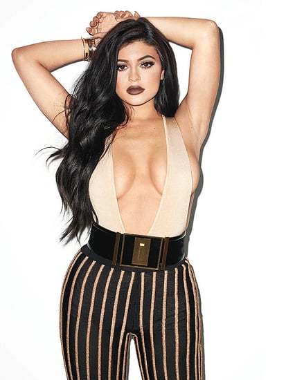 Kylie Jenner Shows All the Cleavage in Sexy Terry Richardson Photo Shoot