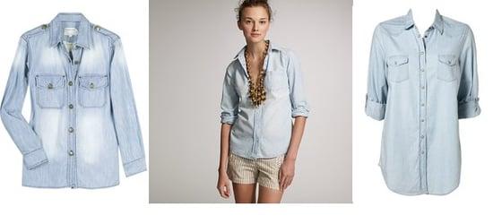 Shopping: Worn-In Chambray Shirts