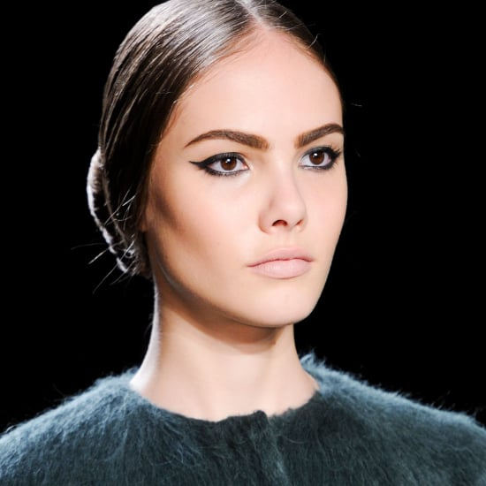 Christian Siriano Fall 2014 Hair and Makeup   Runway Picture