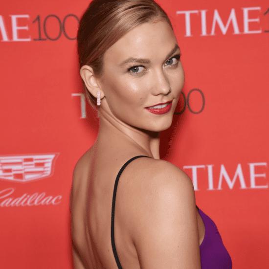 Karlie Kloss's Purple Dress at the Time 100 Gala 2016