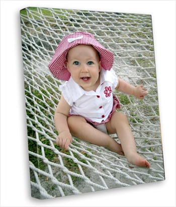 Canvas On Demand for Baby Pictures