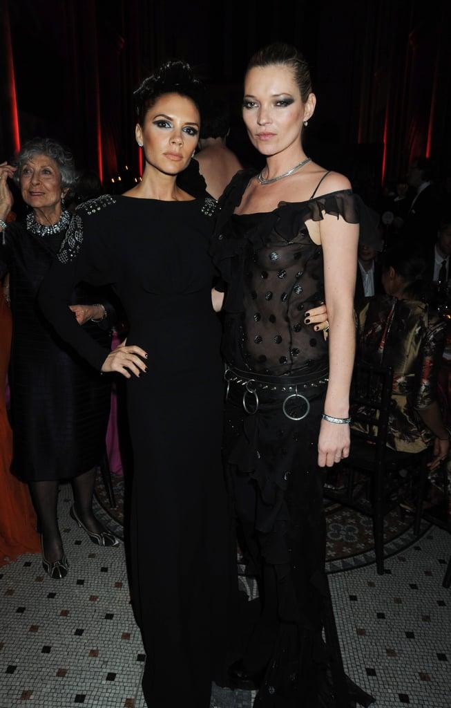 Victoria Beckham, Kate Moss