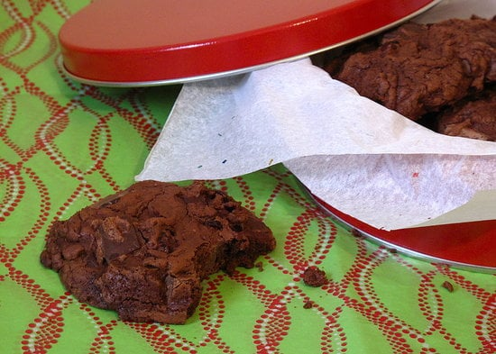 Anyone who knows Santa knows that he's a serious chocoholic. Make sure he gets his Christmas Eve fix with these chewy double-chocolate cranberry cookies.
