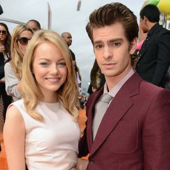 Emma Stone and Andrew Garfield Pictures Kids' Choice Awards