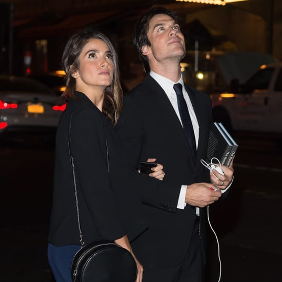 Ian Somerhalder and Nikki Reed Staring at the Supermoon Eclipse Was All of Us
