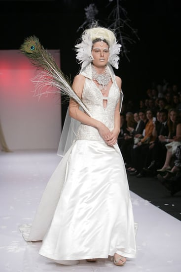 Freaky or Fabulous? Alana Savoir Feather-Infested Bride