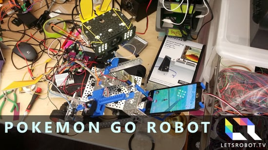 Experts Are Building A 'Pokemon Go' Robot For Everyone To Play With