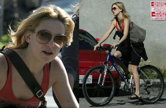 Kate Hudson Is Not Wearing a Helmet, But You Should