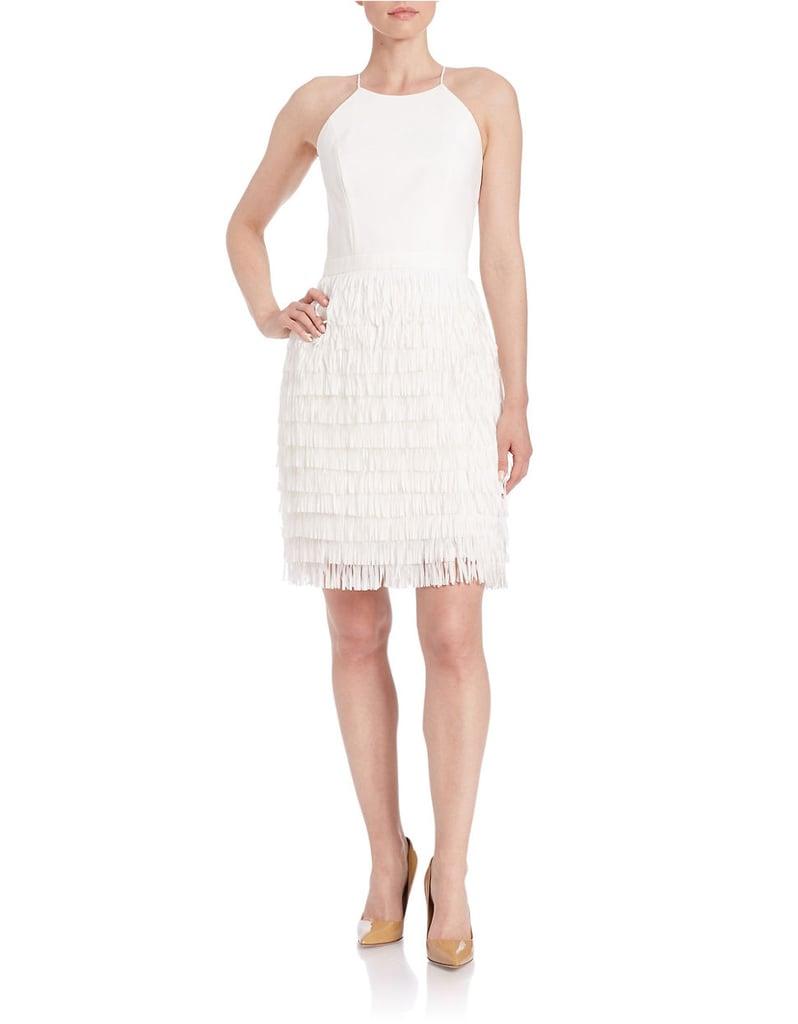 Aidan Mattox Halter Crepe Dress ($190)