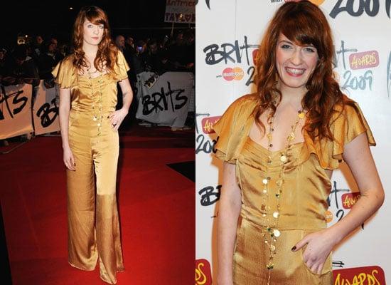 Florence Welch Brit Awards