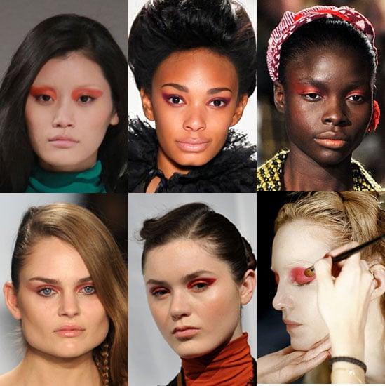 Get the Vivid Eye Makeup Trend Seen at Fall 2011 Fashion Week