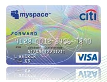CitiBank and MySpace Collaborate for Credit Card